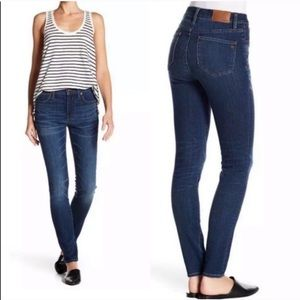 """Madewell 9"""" High-Rise Skinny Jeans Size 25"""